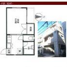 池ノ上駅の賃貸物件【1K  マンション】(ご成約済)