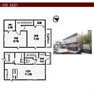 明大前駅の賃貸物件【2LDK テラスハウス】(ご成約済)